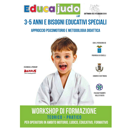 EDUCAJUDO LAB - GATTINARA (VC) 4-5/5/19